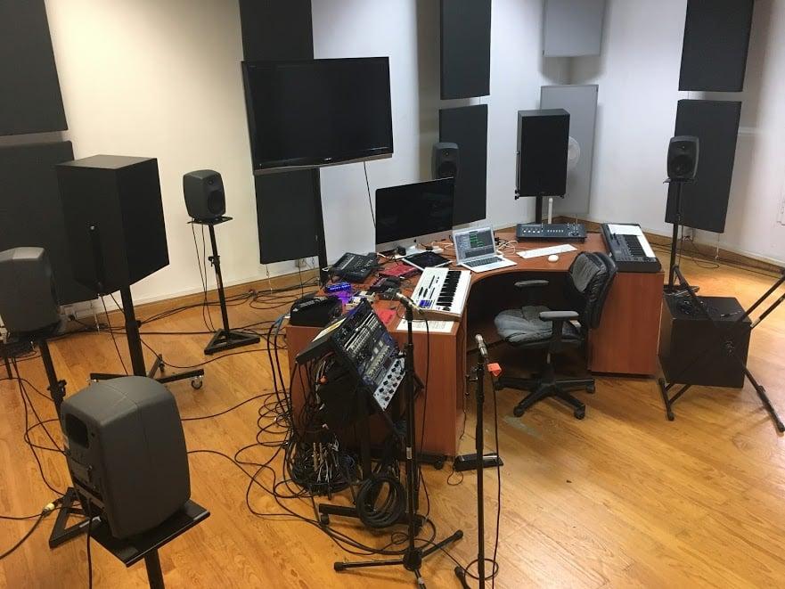Main studio, CMMAS, Mexico